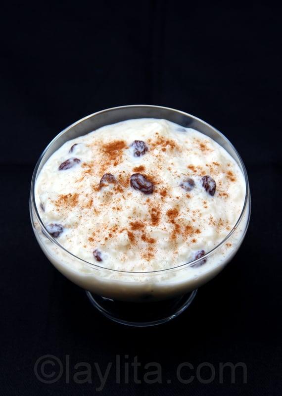 Arroz con leche ecuatoriano