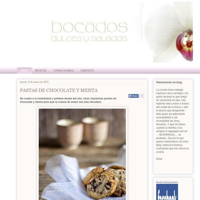 Blog Bocados Dulces y Salados