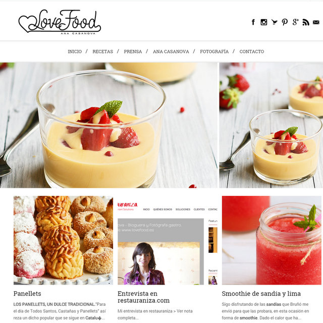 Blog Love Food