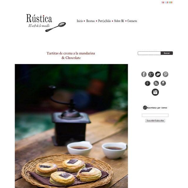 Blog de cocina Rustica