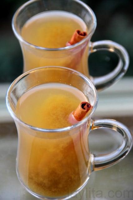 Receta del canelazo y receta del naranjillazo