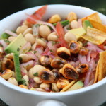 Ceviche (vegetariano) de chochos