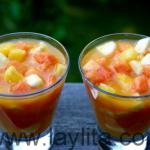 Come y bebe: ensalada de frutas tropicales