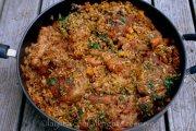 Como hacer arroz con pollo
