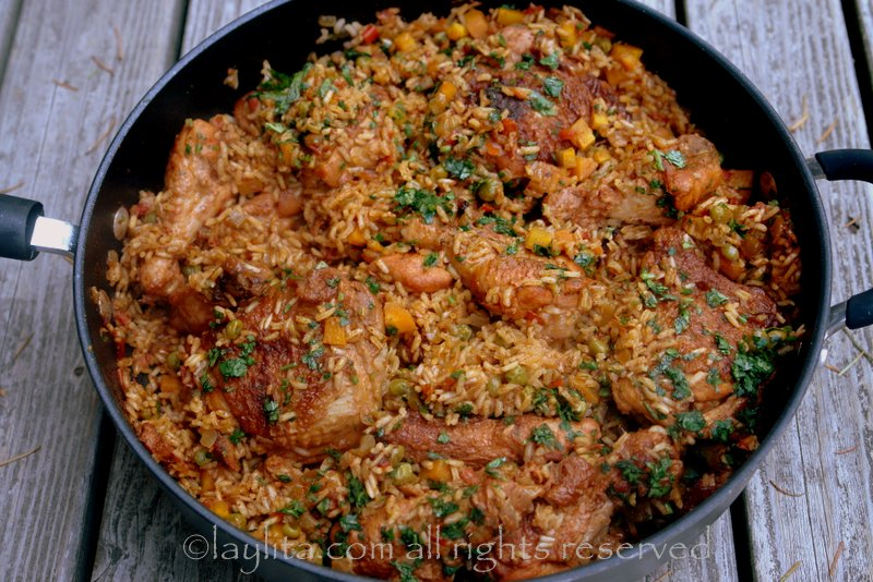 arroz con pollo recetas en espa ol recetas de laylita