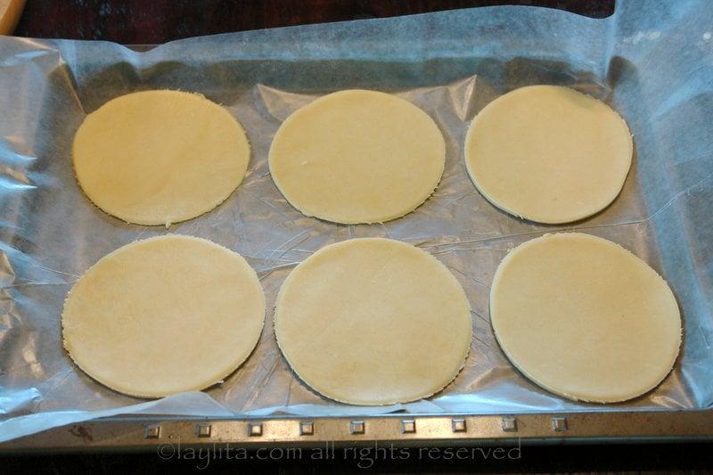Como hacer discos o tapas de empanadas caseras