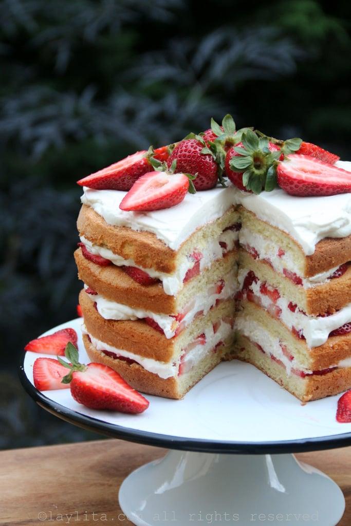 Como preparar un pastel de capas