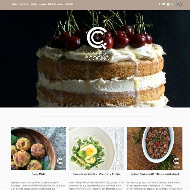 Confieso que cocino blog