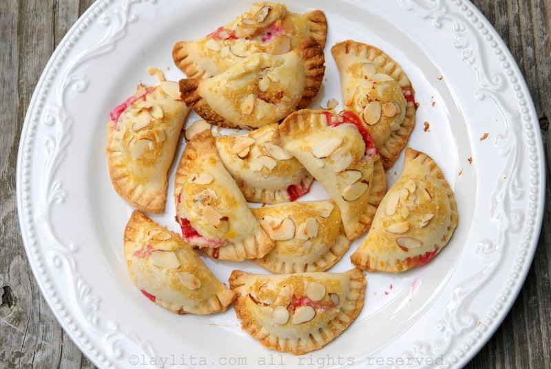 Empanadas de frambuesa