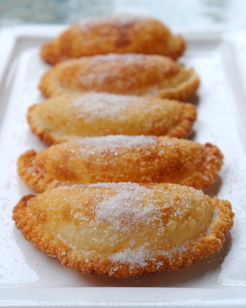 Empanadas ecuatorianas de viento o queso