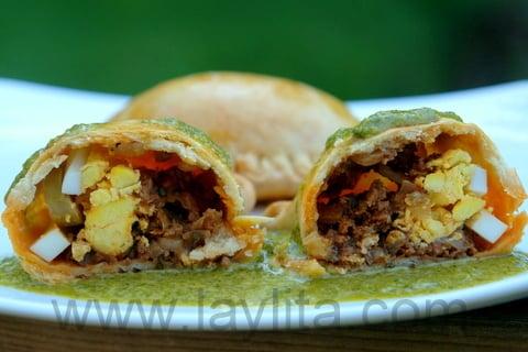 Empanadas mendocinas con chimichurri