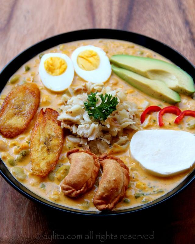 Fanesca ecuatoriana receta