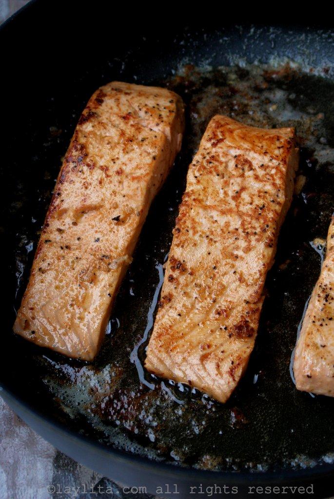Filetes de pescado al sarten