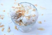 Helado de coco receta