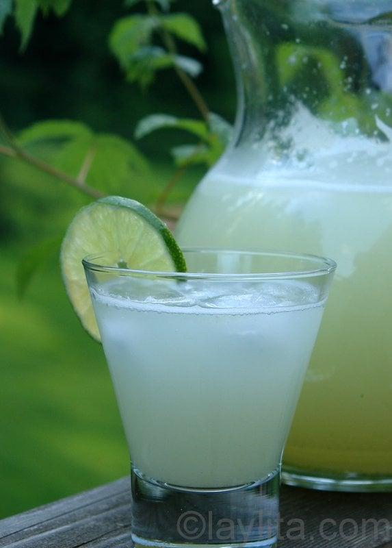 Limonada casera - receta facil