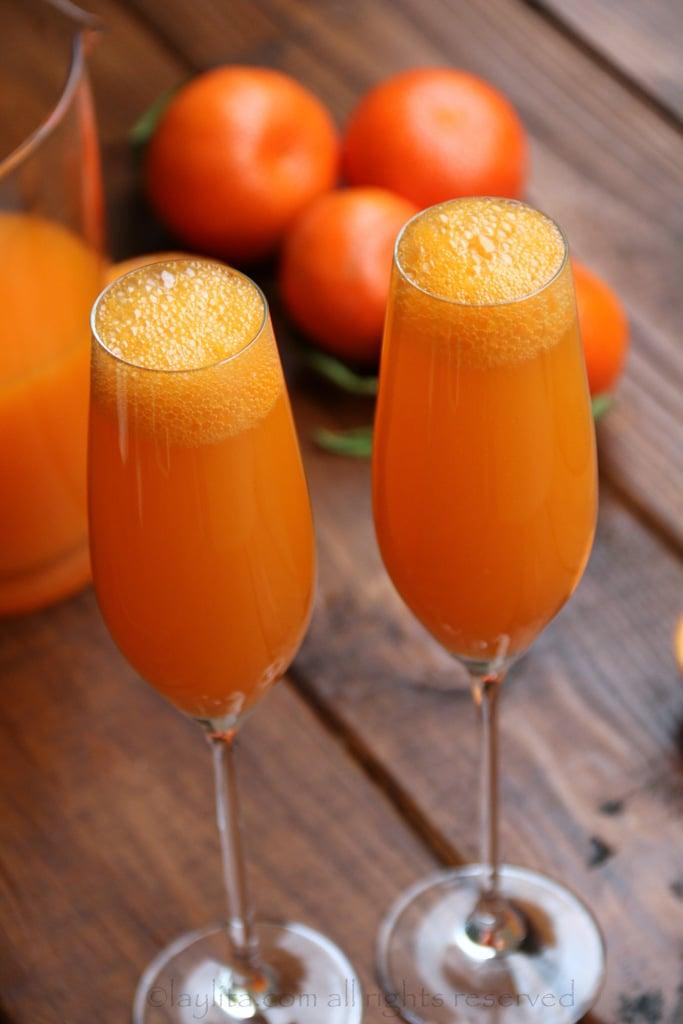 Mimosa de mandarina