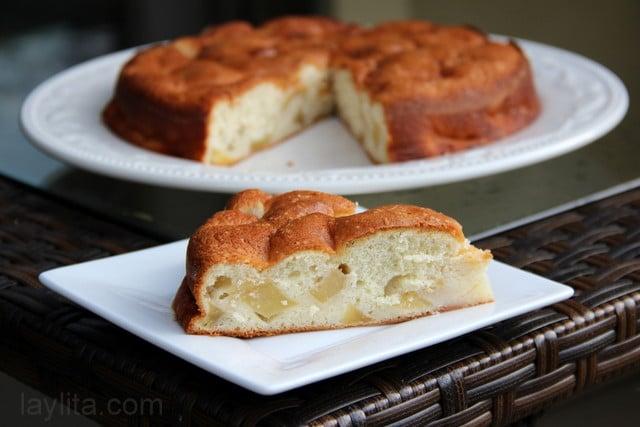 Pastel de manzana receta