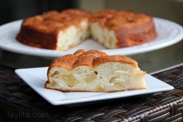 Pastel de manzana receta facil