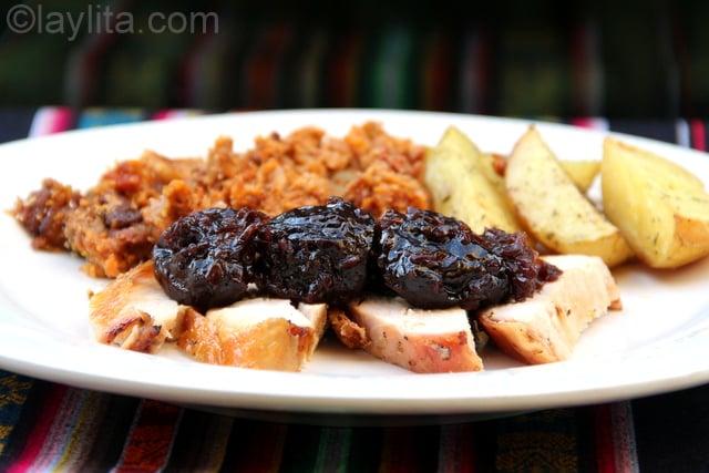 Receta de la salsa de ciruelas recetas de laylita - Carne con ciruelas pasas ...