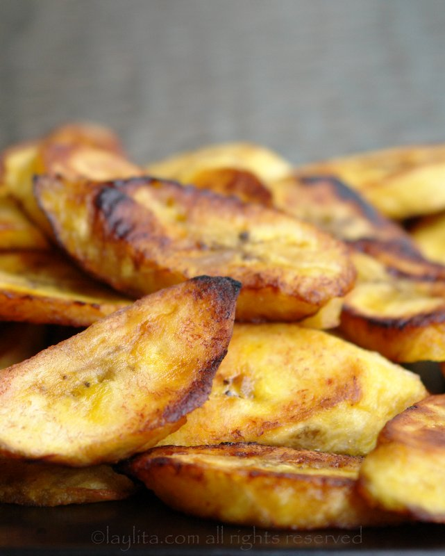 Platanos o maduros fritos