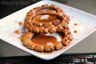 Pristiños horneados con miel y canela