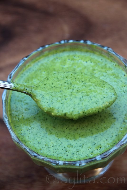 Receta de salsa de jalapeño