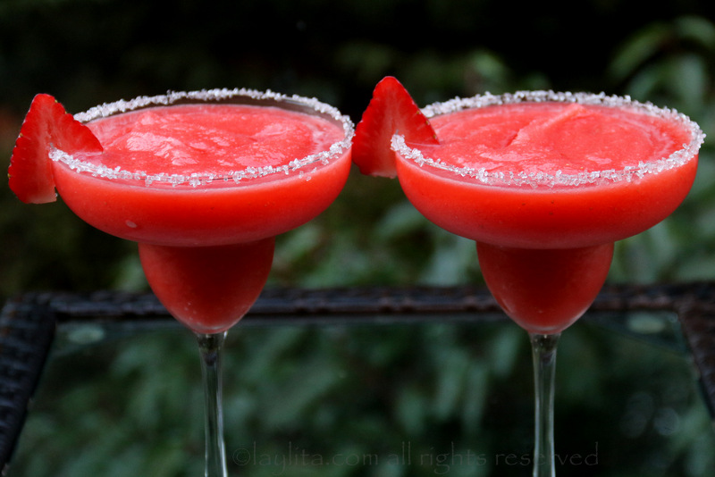 This Strawberry Margarita is the best way to enjoy tequila!A perfectly balanced cocktail for those who love the taste of tequila without the bite.. Strawberry Margarita Recipe. The ever-growing divide between margarita lovers remains: frozen or on the rocks? I think both are perfectly delicious and acceptable, but this frozen version is definitely more fun for celebrating and is perfect for.