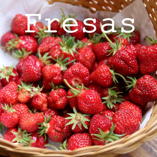 Recetas con fresas o frutillas