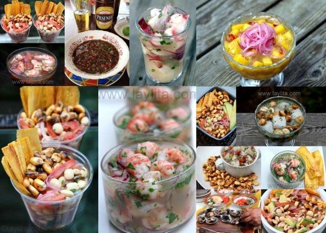 Receta de ceviches de Ecuador