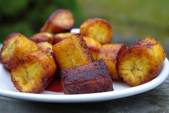 Recetas de los platanos fritos