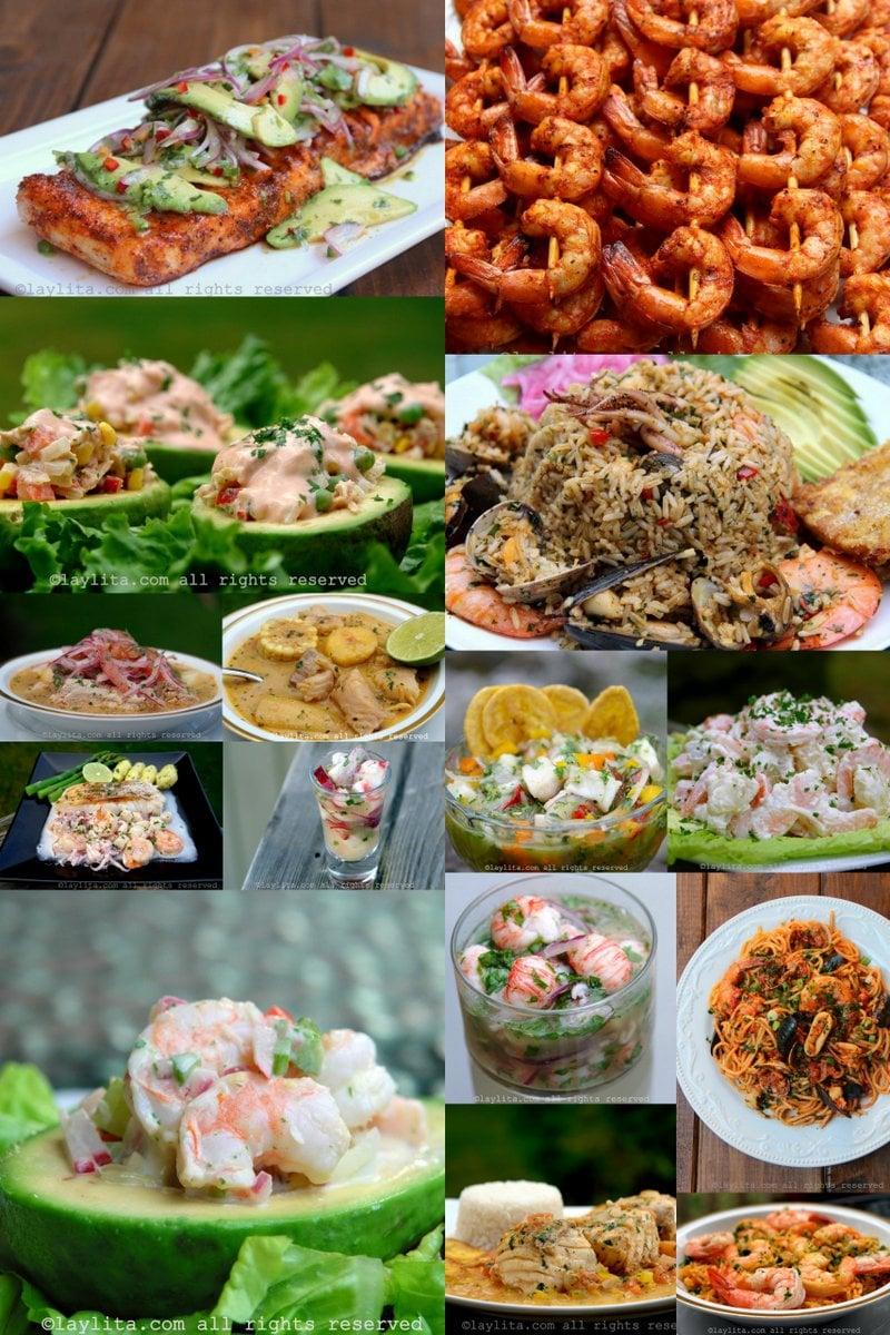Recetas de pescado y mariscos