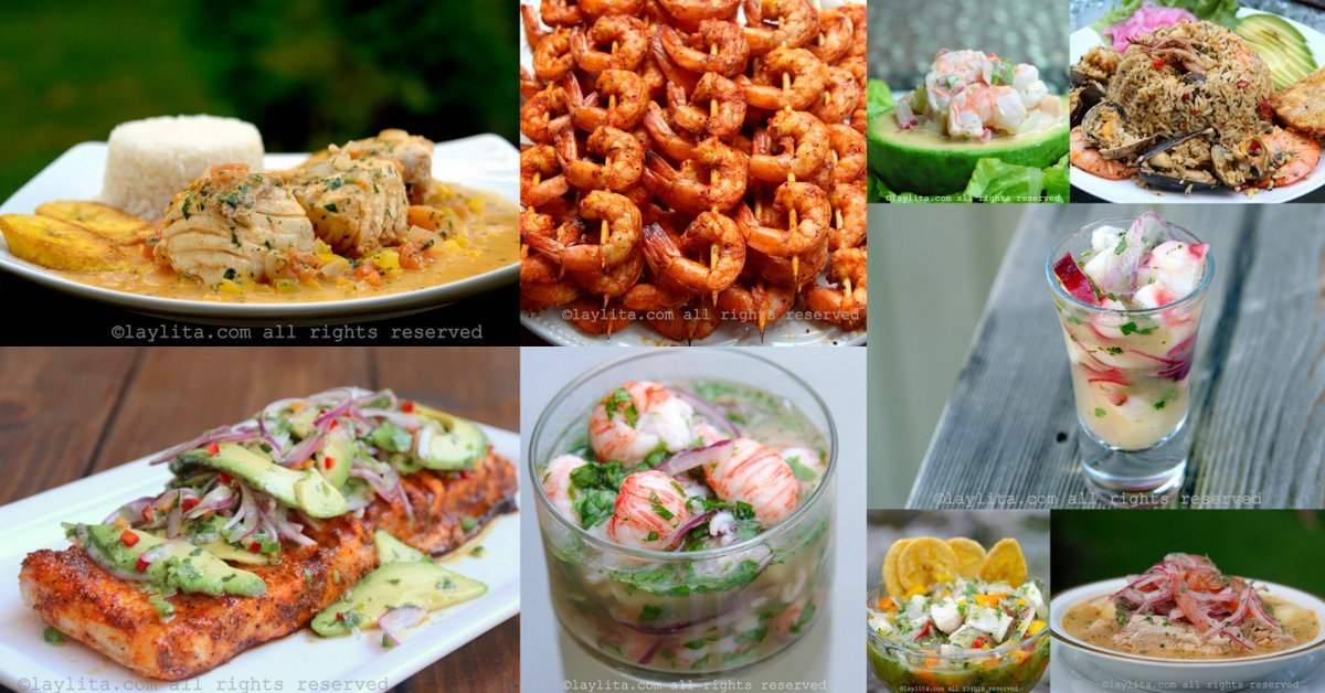 Recetas De Pescado Y Mariscos Laylitacom Recetas De Cocina