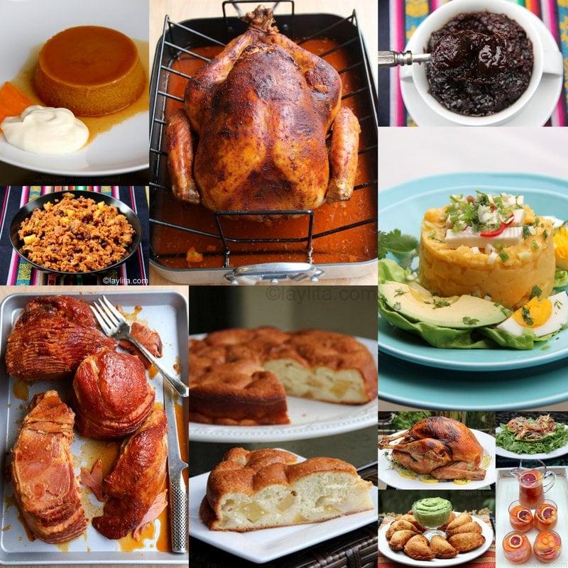 Recetas Para El Día De Acción De Gracias O Thanksgiving Laylita Com Recetas De Cocina
