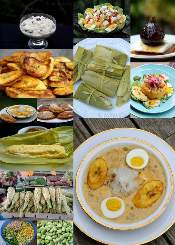 Recetas tradicionales ecuatorianas de Semana Santa
