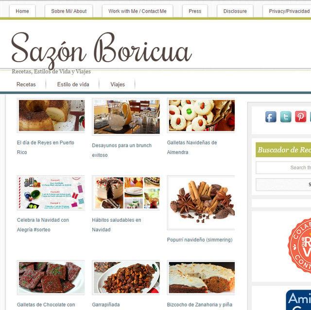 Sazon Boricua blog