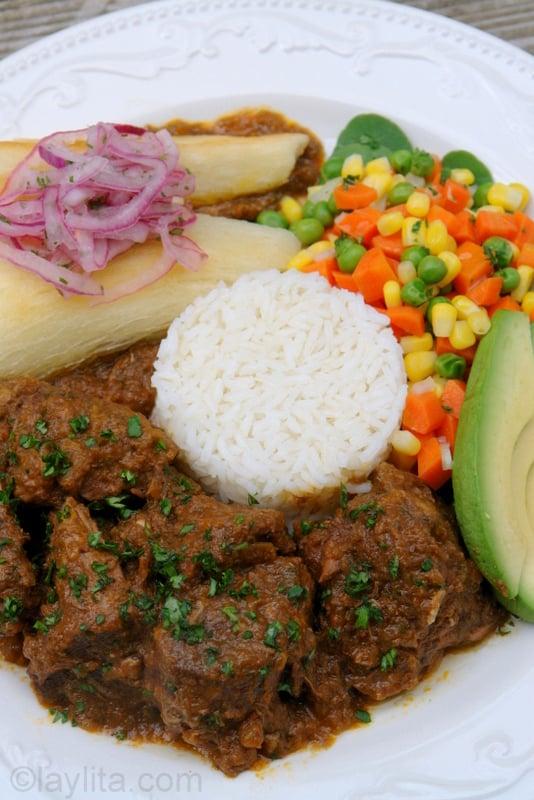 Seco de borrego ecuatoriano
