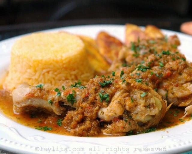 Seco de pollo o gallina