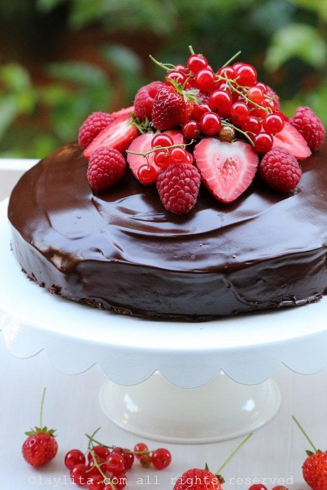 Torta o pastel de chocolate