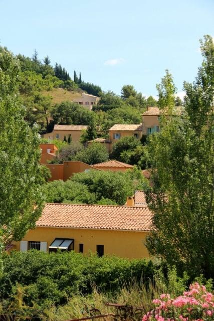 Casas clásicas en la Provenza Francesa