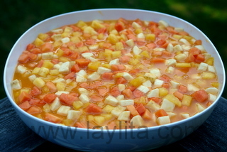 Salada mista de frutas