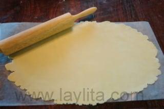 Preparação para massa da empanada