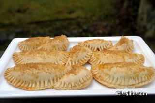 Empanadas au fromage cuites