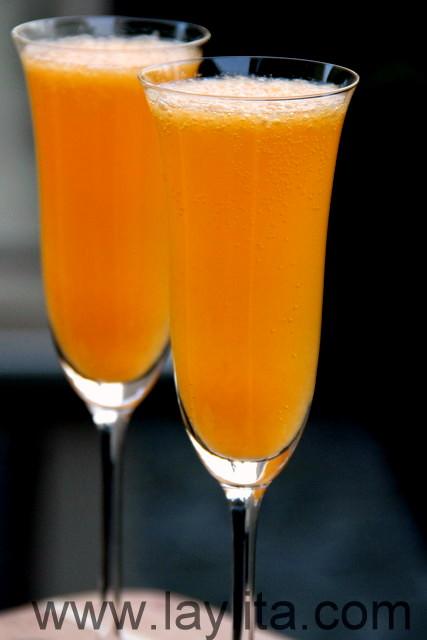 Ce cocktail mimosa à la mandarine peut aussi se déguster pour toute occasion.