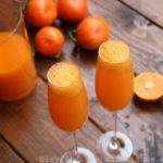 Mimosa à la mandarine (ou orange)