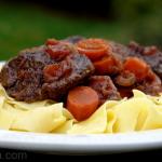 La daube provençale traditionnelle au bœuf de Bernard