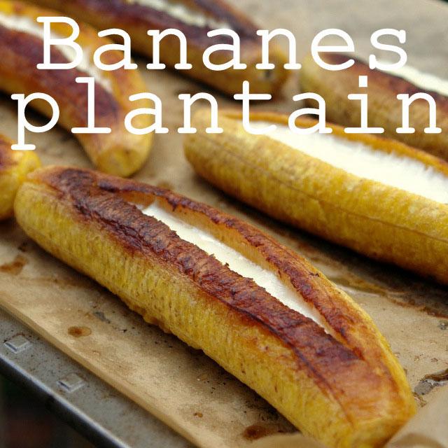 Recettes bananes plantain