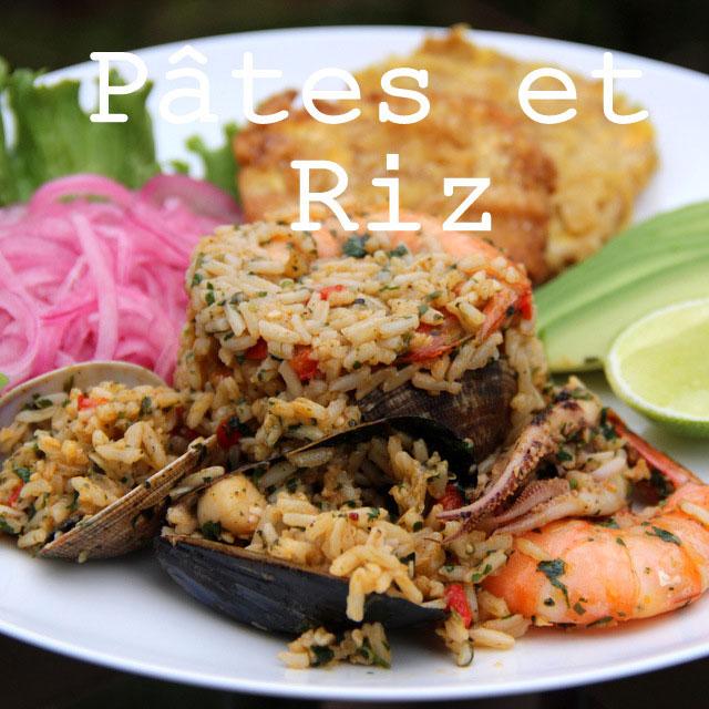 Recettes de Pâtes et riz