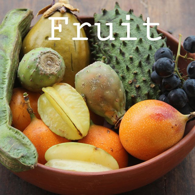 Recettes fruit