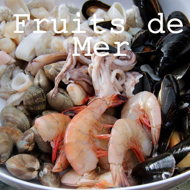 Recettes poissons et fruits de mer