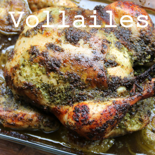 Recettes vollailes